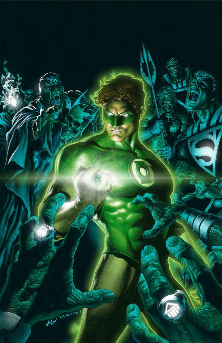 Green Lantern (Hal Jordan) My favorite Hero in DC