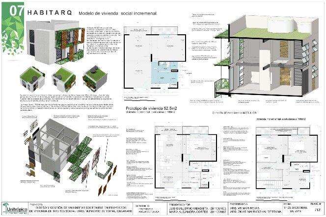 Modelo de vivienda incremental