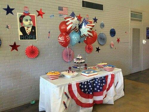Election Theme first birthday, for president birthday