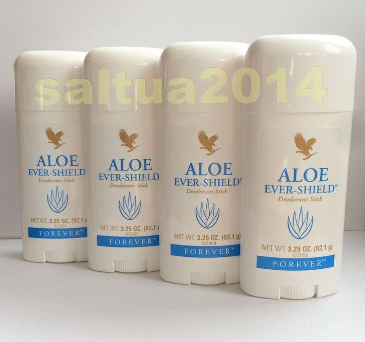 Deodorant Forever Living Aloe Vera Ever Shield 4 Set Stick
