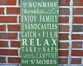 Cottage Rules Vintage Style...Heart Aches, Beach Rules, Beach House, Typography Words, Cottages Rules, Style Typography, Word Art, Words Art, Vintage Style