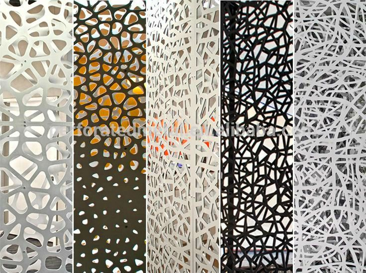 decorative laser cut metal screen design