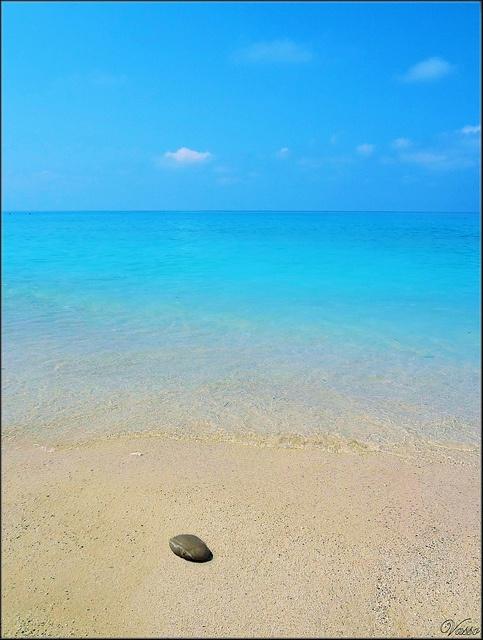 true blue from Lefkada, Greece