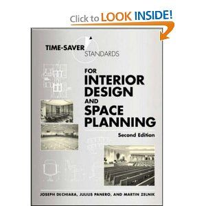 Time-Saver Standards for Interior Design and Space Planning, Joseph  DeChiara, Textbooks - Barnes & Noble