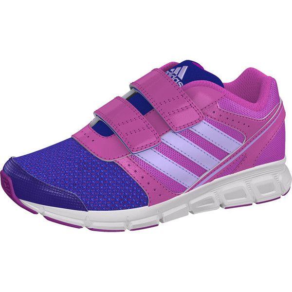 Adidas Hyperfast scarpa da corsa bambine B26004  € 36   Walking Calzature found on Polyvore
