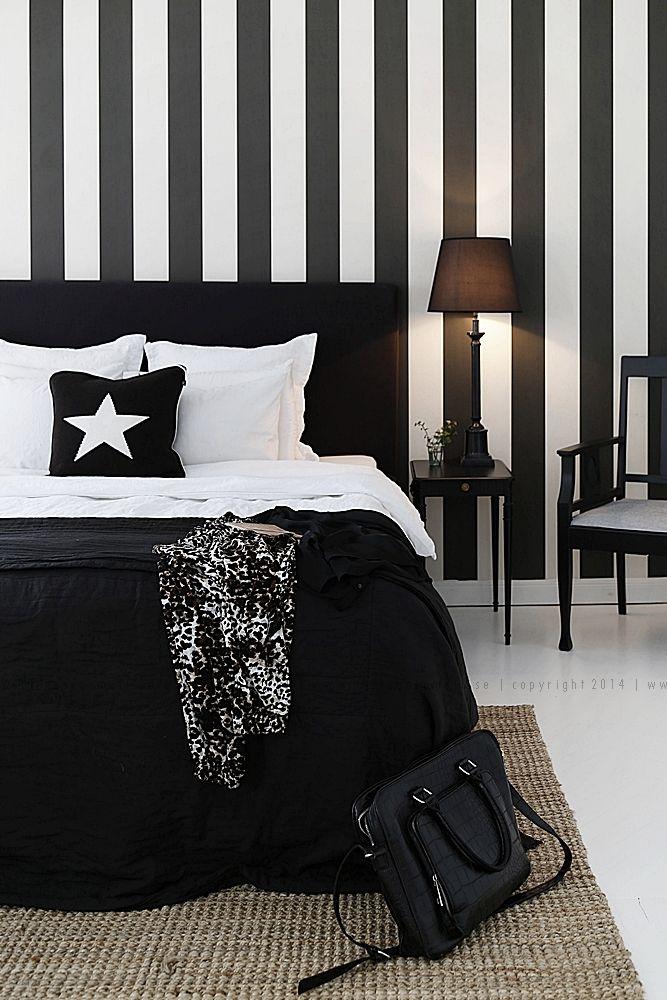 1000 ideas sobre ropa de cama en blanco y negro en - Dormitorios blanco y negro ...