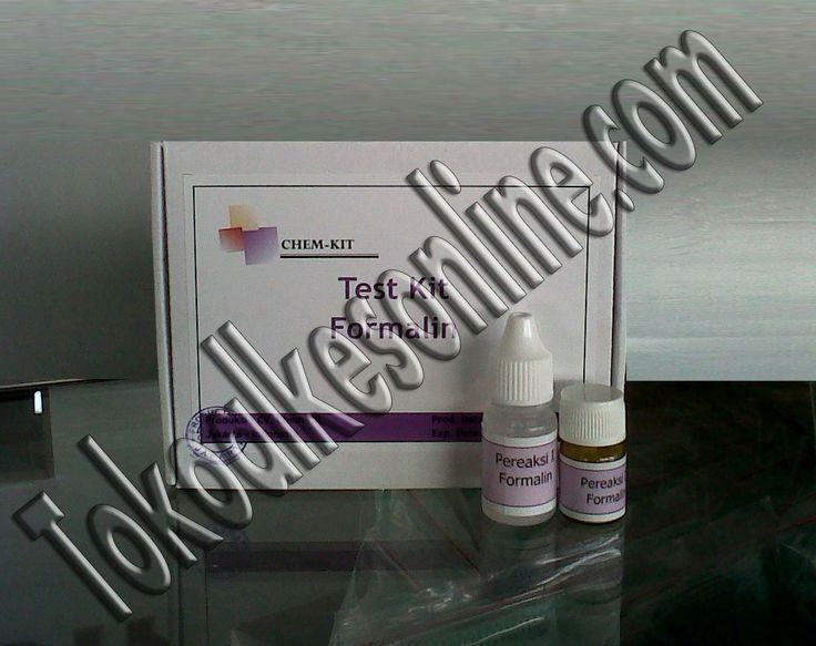 Tokoalkesonline.com meneyediakan test kit formalin dengan kualitas sangat akurat,murah dan sudah terbukti di BPOM indonesia, test kit ini merk Chemkit, test kit chemkit ini diproduksi dalam negri, untuk pemesanan silahkan hubungi 087774050806