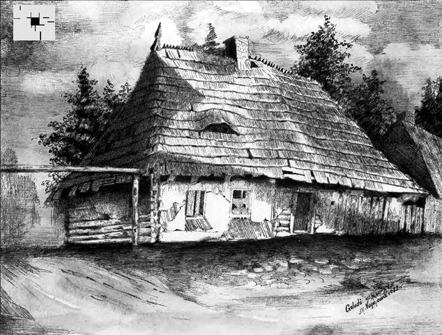 Stary dom Machniewskich przy ulicy Bytomskiej 1932 r. Wydawca: Urząd Miasta Czeladź, Wydział Kultury Maria Nogajowa