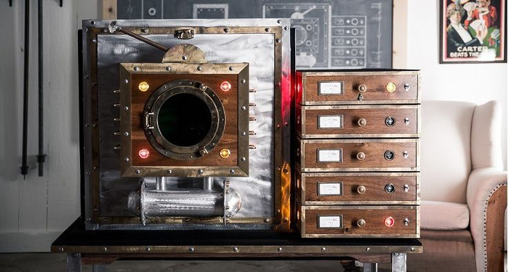 Here is the Time Machine built and tested in the Chamber of Mysteries workshop!