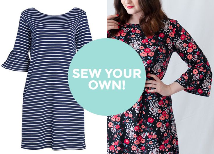 Sew Your Own #1 - Tilly and the Buttons - Coco Dress with Ruffle Sleeve Hack!