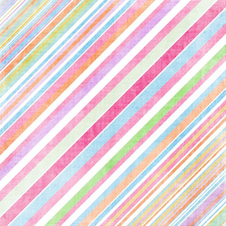 Diagonal Rainbow Stripe Pattern