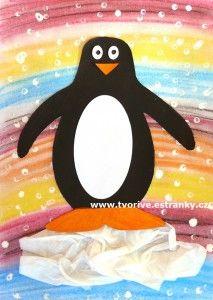 tučňáci v barevném ráji