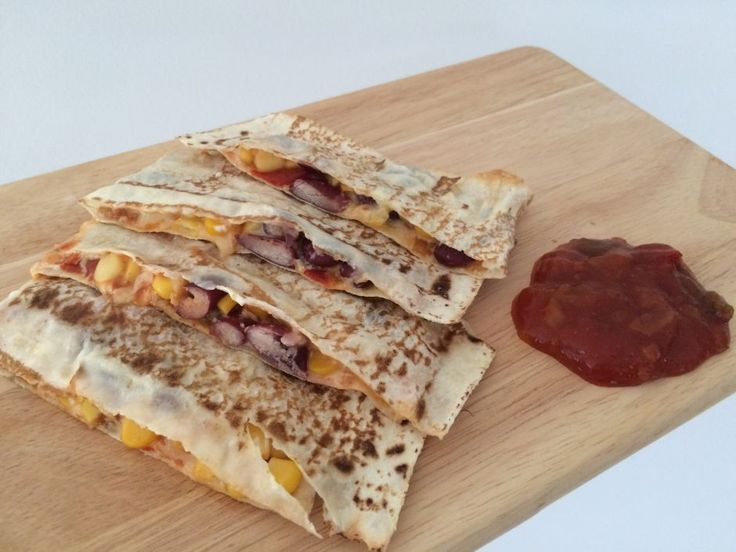 Healthy Husband Friendly Mexican Toastie