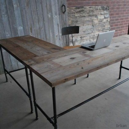 Handmade Industry Desk by Urban Wood Goods | CustomMade.com