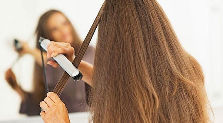 Classifique este artigo 11 erros a evitar ao usar a prancha no cabelo Quer ficar