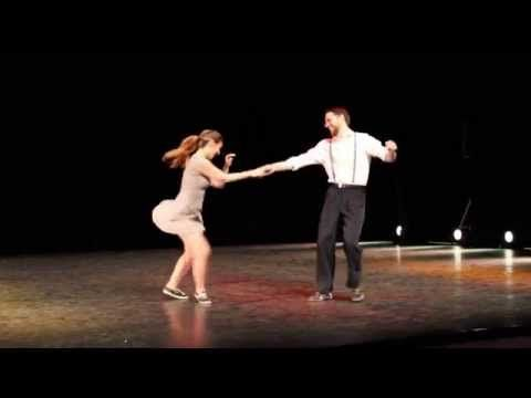 "10 Lindy Hop- ""In The Mood""- Marine & Guillaume - YouTube"