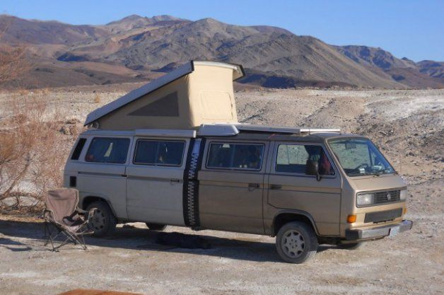 This zippered VW Bus is getting a Tesla Model S drivetrain [w/video]
