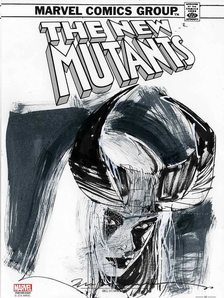 The New Mutants - Magik by Bill Sienkiewicz *
