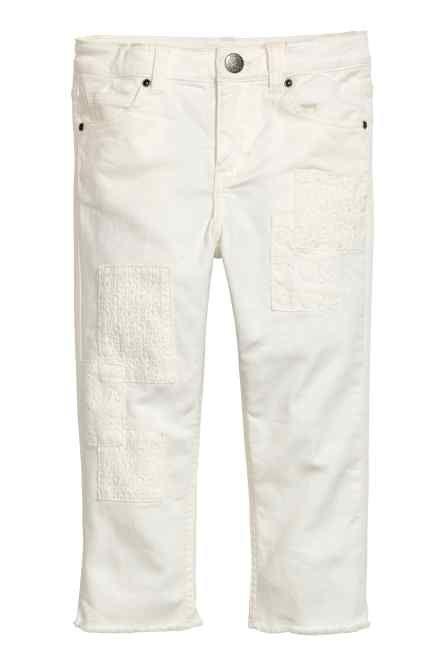 Pantaloni cu petice