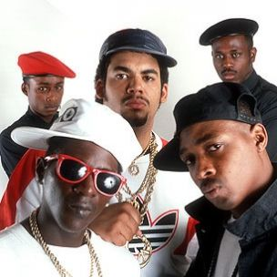 Public Enemy is an American hip hop group consisting of Chuck D, Flavor Flav, Professor Griff and his S1W group, DJ Lord, and Music Director Khari Wynn