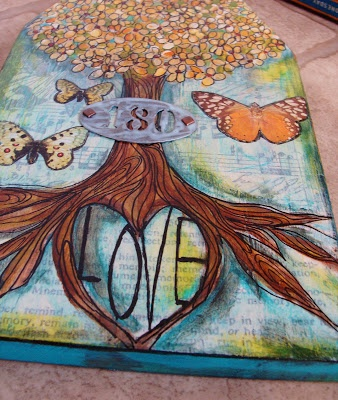 """One woman's blog about her """"Art Journal."""" I really enjoy her creativity, honesty, and expression portrayed in each design!"""