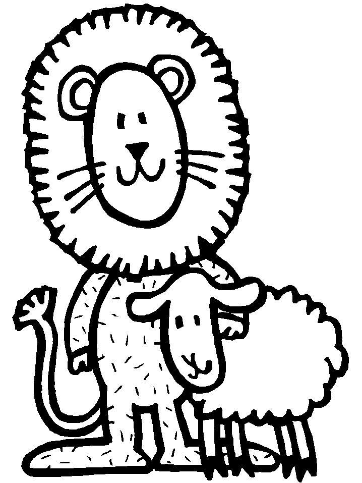 Картинки льва и барашка прикольные