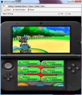 Télécharger Pokemon X et Y ROM Gratuit + Nintendo 3ds Emulateur