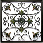 17 Best images about WROUGHT IRON MEDALLIONS WALL DECOR