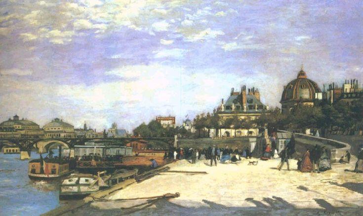 Мост Искусств, Париж, 1867