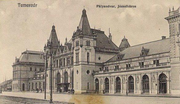 Timisoara - 1913 - Gara Josefin
