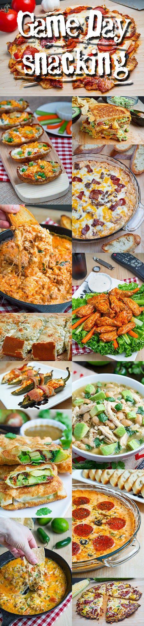 100 Game Day Snacks | Closet Cooking #SuperBowl #Football #GameDayGrub