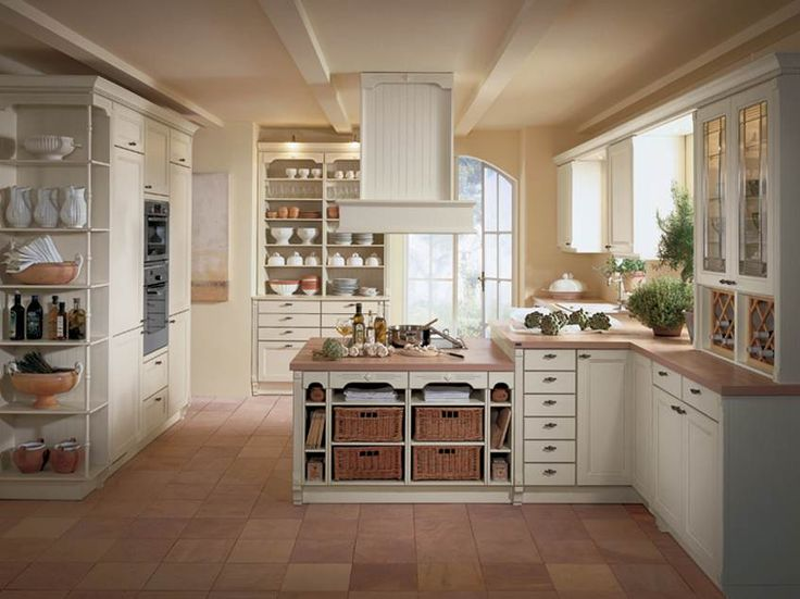 Top Beautiful Country Kitchen Designs Idea