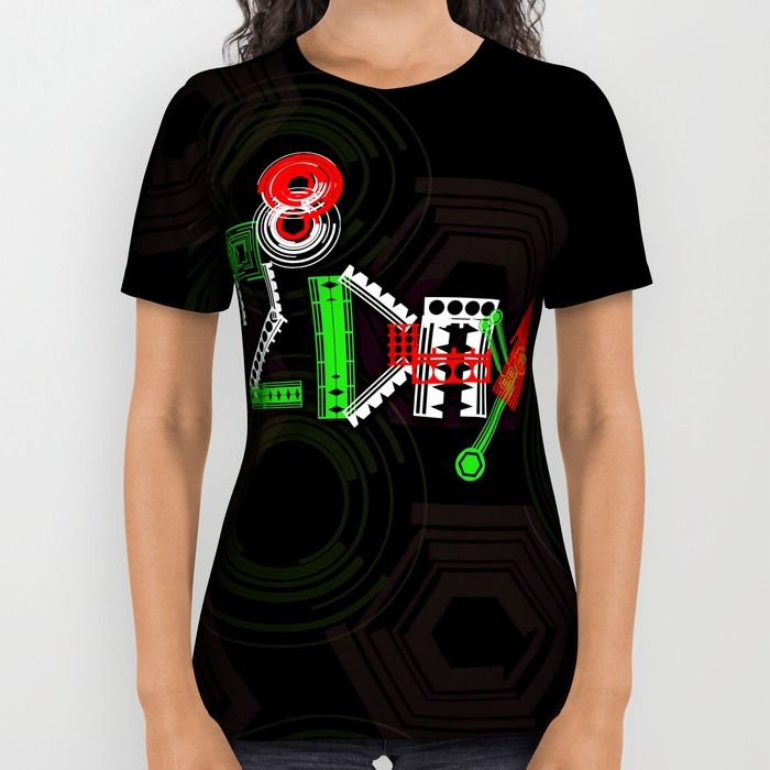 2^8 Programmer's Day All Over Print Shirt by Twin Ring Design | Society6