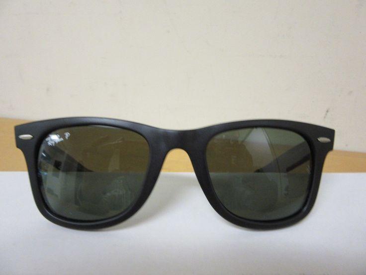 Ray-Ban RB2140 Sonnenbrille Dunkles Tortoise 902/57 Polarisiert 50mm KPi2Tv