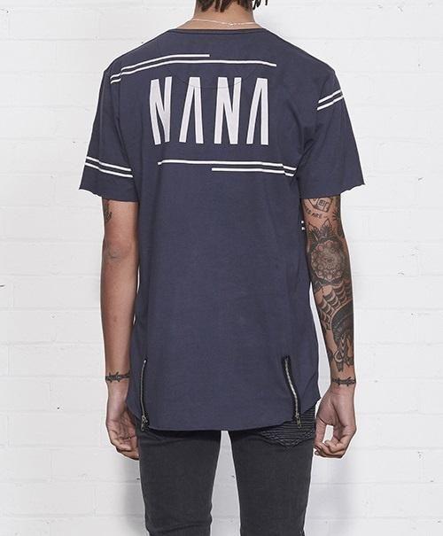 nana judy - Spur Tee Charcoal