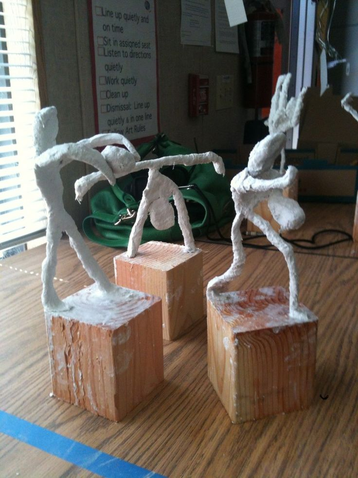 plaster sport trophies.. neat idea. but would like to do hobby trophies (include music, drama, etc)