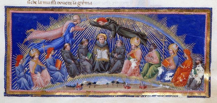 Dante and Beatrice - Dante Alighieri Title Divina Commedia Origin Italy, N. (Tuscany, Siena?) Date between 1444 and c. 1450 Language Italian http://www.bl.uk/catalogues/illuminatedmanuscripts/record.asp?MSID=6468&CollID=58&NStart=36