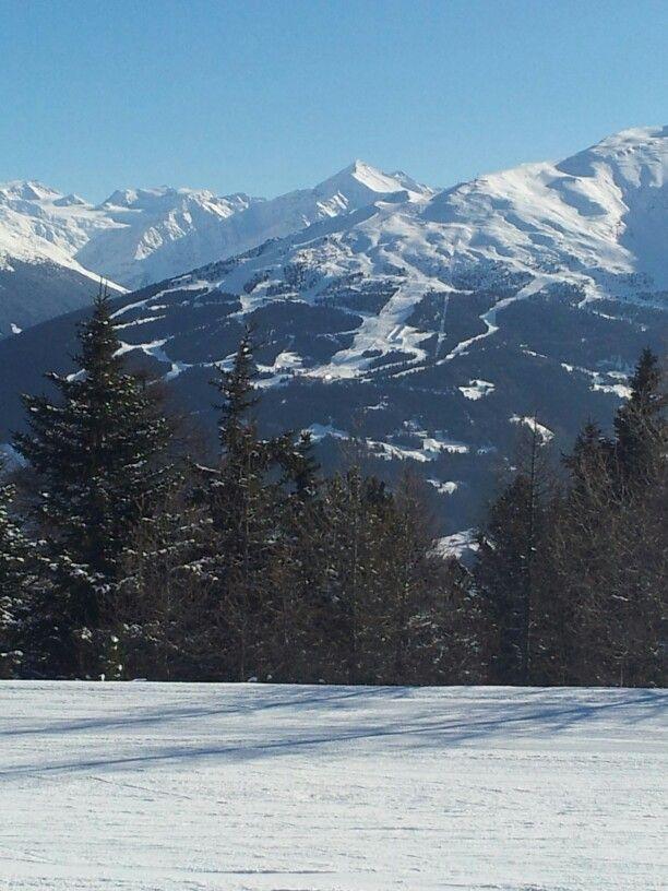 Bormio ski area from a distance