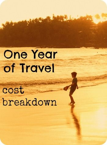 Cost Breakdown For 1 Year of Travel. What did one year of non-stop round the world travel actually cost? Where did we spend big and where did we save? Find out how we did it, to help you plan your own family travel adventure. World Travel Family travel blog. http://worldtravelfamily.com