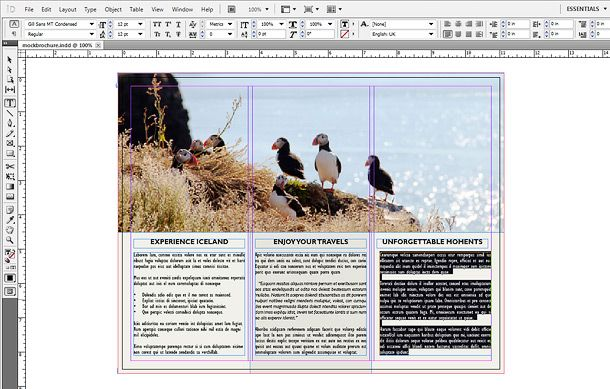 How to Make a Brochure in InDesign 6