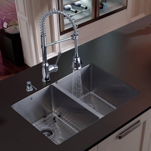 Contemporary Kitchen Designed With Undermount Sink And Led: 1000+ Ideas About Modern Kitchen Sinks On Pinterest