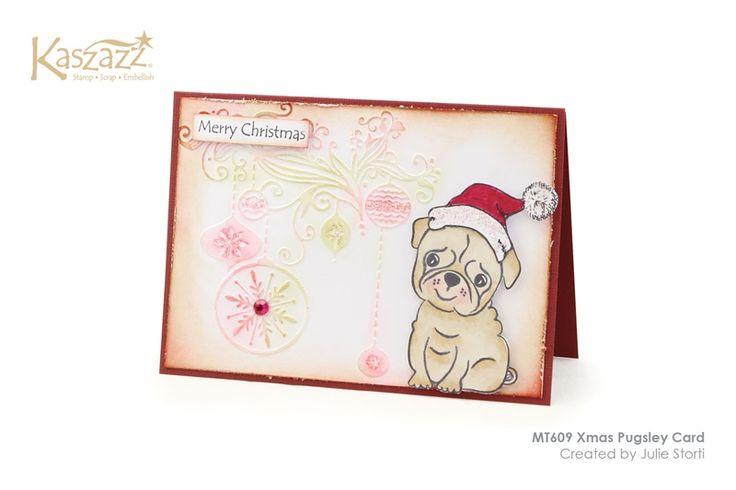 MT609 Xmas Pugsley Card