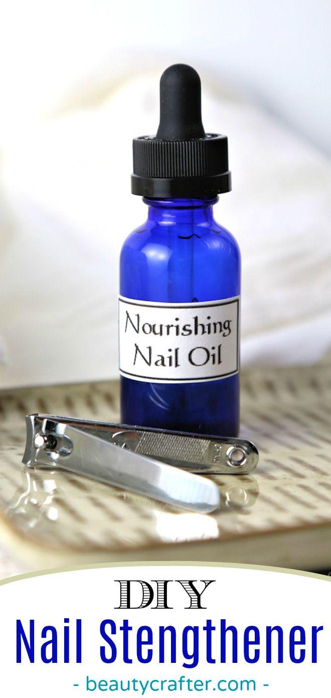 Nail Strengther DIY, Nagelölrezept für starke Nägel. Spröde, schwache Nägel heilen … – Cosmetics