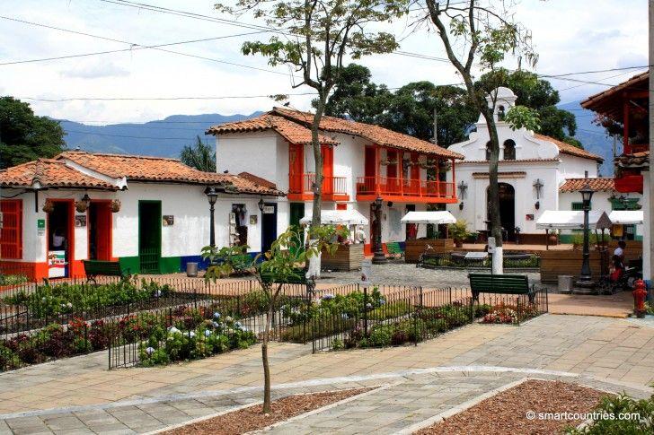 Pueblito Paisa, Medellin, Colombia.
