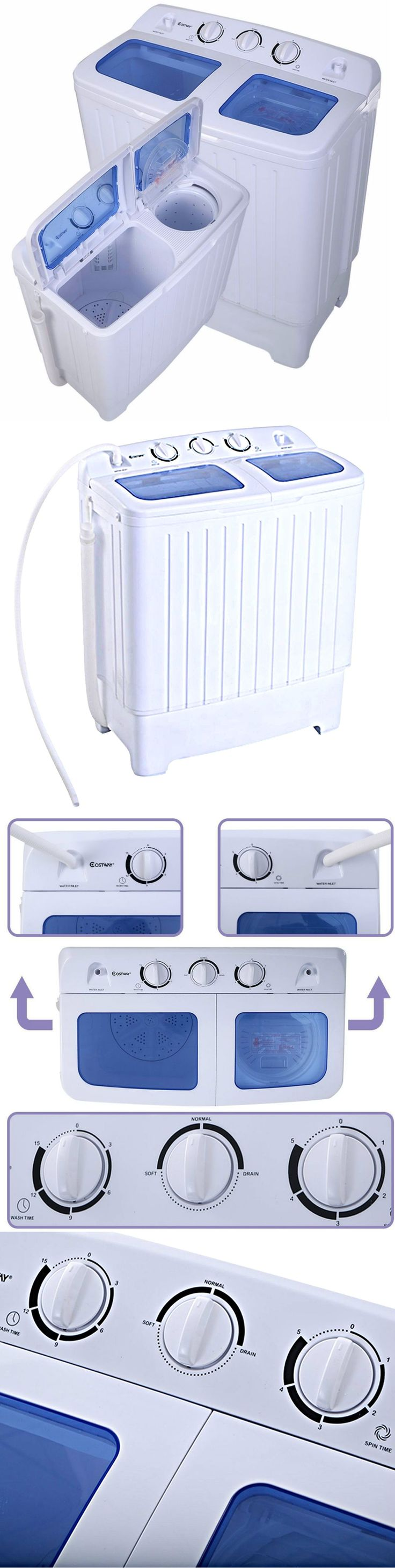 Washing Machines 71256: Washer And Dryer Combo Portable Washing Machine 11Lbs Stackable Cheap All In One -> BUY IT NOW ONLY: $145 on eBay!