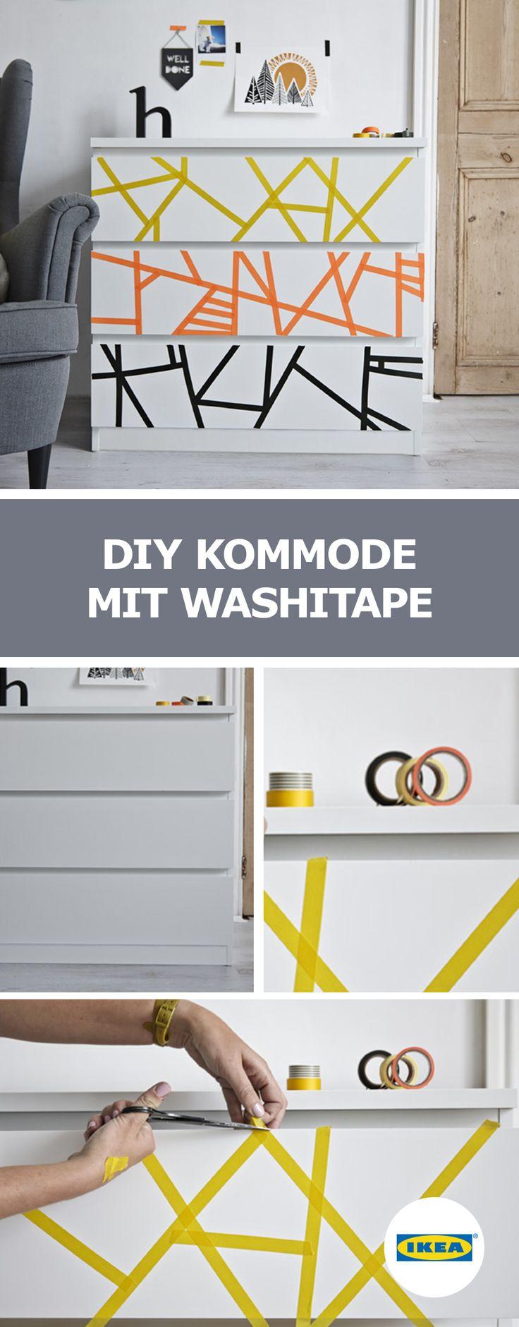 In Unseren IKEA Ideen Zeigen Wir Dir, Wie Du Eine Kommode Umgestalten  Kannst, Dass Daraus Ein Echtes Unikat Wird. Schau Mal   Diese Ideen Wirst  Du Lieben.