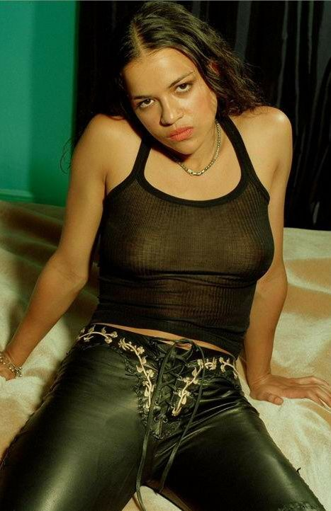 """famoustits23: """"174 MICHELLE RODRIGUEZ Age 36. Bra size 32B Set number 174 from famoustits23 BORN: Texas, USA TV: Lost (×24) FILMS: Fast and the Furious (×5), Resident Evil (×2), Avatar, Battle: Los..."""