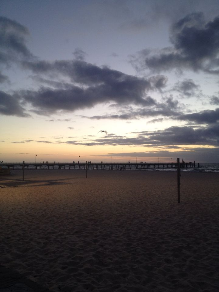 Glenelg sunset, South Australia