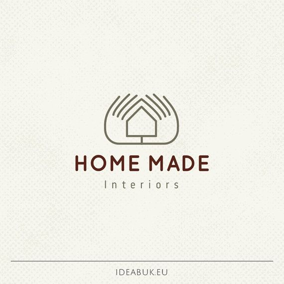 Lovely Pre Made Logo, Home Logo, Hand Made Logo, House Logo, Interior Logo,  Professional Business Branding, Personal Logo, One Of A Kind Logo | Logos,  ...