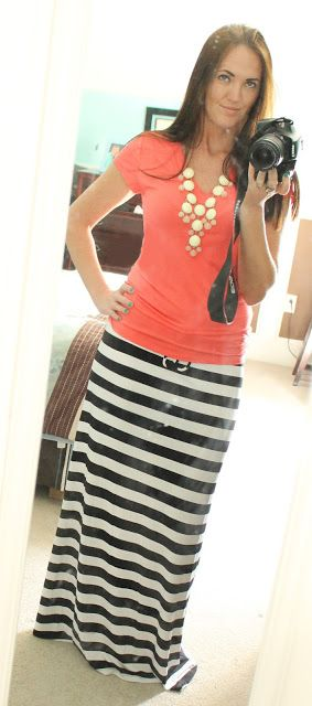 29 best Striped maxi dress images on Pinterest   Striped maxi ...